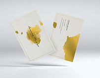 20 white business card mockups