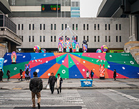 New Year Graphics for Sejong Center, 2014