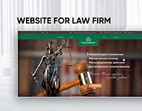 Logotype and Website for law firm