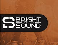 Bright sound // Logo design