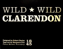 Clarendon Type Specimen Booklet