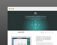 Peerdash Landing Page & App UI/UX