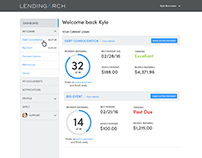 Lending Arch: UX/UI User Dashboard