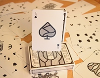 Thick -N- Thin Playing Cards