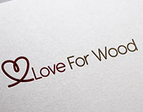 Love For wood | Logo Design