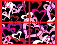 Heart Tile Boards