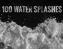100 Water Splashes