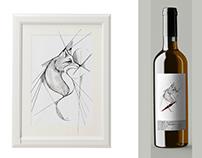 """Adelanto Etiquetas Vino Reserva """"El Capricho"""""""
