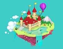 3D | Castle Island