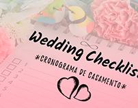 Cronograma de Casamento