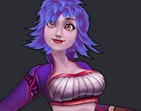 Gilli Fauwler - 3D Character
