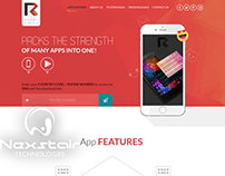 Nexstair Created this Mobile App Design