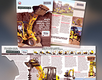 Wacker Neuson Corporation Die Cut Insert Advertising