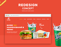 Redesign concept of fast-food company