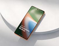 Phone Mockup Scenes Galaxy S21