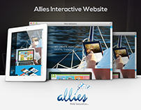 UI/UX Responsive website for Allies Interactive