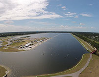 Nathan Benderson Park from the air