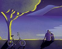 ''Ponika'' - birthday present illustration :)