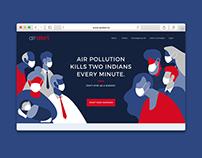 Air A!ert | Branding & Microsite