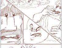 comic اسكتشات لكوميك الازرق الكبير