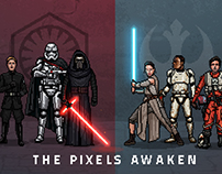 Star Wars - THE PIXELS AWAKEN