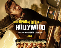 Once Upon a Time in Hollywood Poster