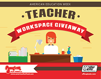 Office Plus and American Fun Food Teacher Giveaway