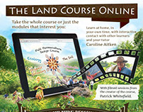 Permaculture Course - Print Advertisement