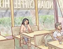 Bangalore Graphic Novel: No More Coffee