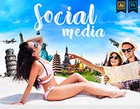 Travel social media vol.1