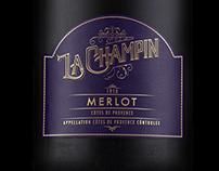 La Champin Wine Label