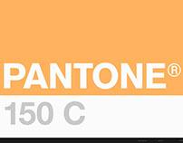 PANTONE 150C
