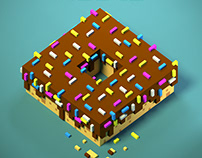 Voxel Wall Art