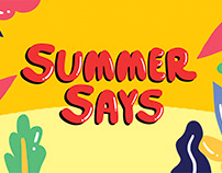 Summer Says Campaign