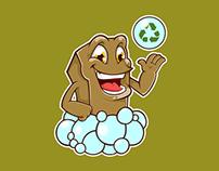 Mascote - Sabão Ecológico