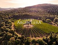 Tenuta Argentiera - Website and Graphic Design
