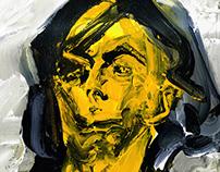 Acrylic faces / Rostros acrílicos