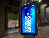 Milan Outdoor Advertising Screen Mock-Ups 6
