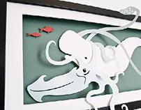 3D Paper Diorama