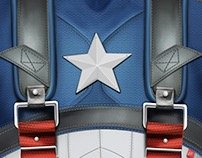 Captain America Torso