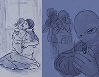 Fatima, widow of an islamist militant (animation short)