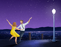 Personal illustration: La La Land