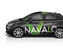 NAVALO vehicle graphic