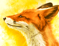 Digital Art / Drawings & Paintings #redfox