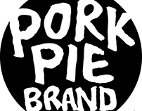 "New branding for my tulip mark and ""Pork-Pie"" logo"