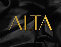 Alta Typeface