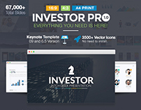 Investor Pro Pitch Deck Keynote Presentation Template