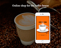 Online shop for the coffee house