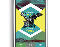 Virginia Zoo App Design