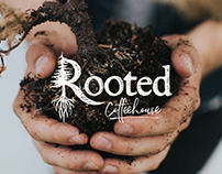 Rooted Coffeehouse | Logo + Brand Design